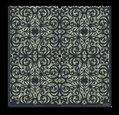 """Design """"ARABESQUE"""" 1750x1800mm"""