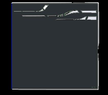 """Design """"FUTUR"""" Semi-Ajouré 1750x1800mm"""