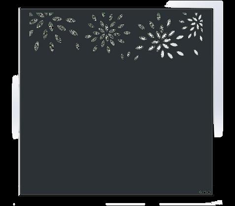 Design FEUILLAGE semi-ajouré  1750 x 1800 mm