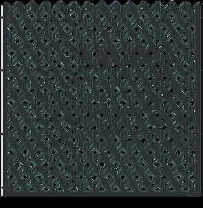 Motif Cube - ajouré