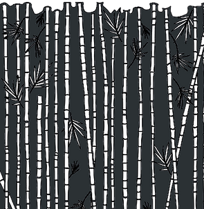 Motif Bambusea - ajouré