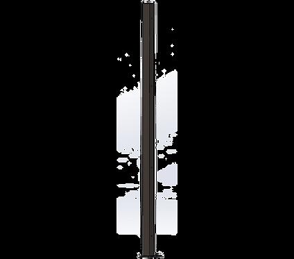 Poteau Gauche 1800mm Coloris Brun Sépia