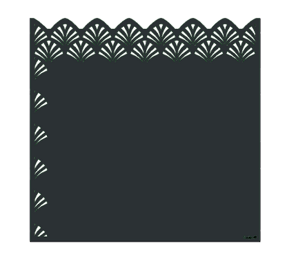 "Design ""NENA"" Semi-Ajouré 1750x1800mm"
