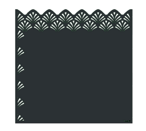 Design NENA semi-ajouré 1750 x 1800 mm