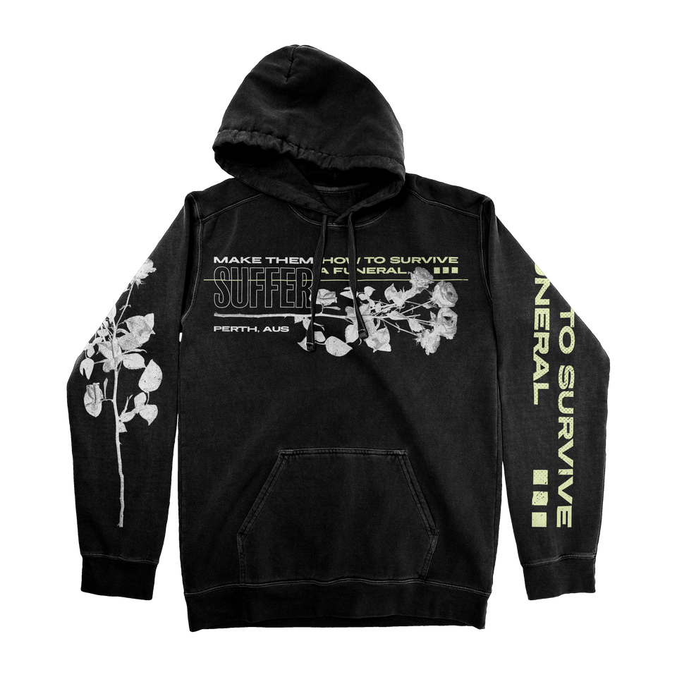 HOW TO SURVIVE A FUNERAL — PULLOVER HOODIE
