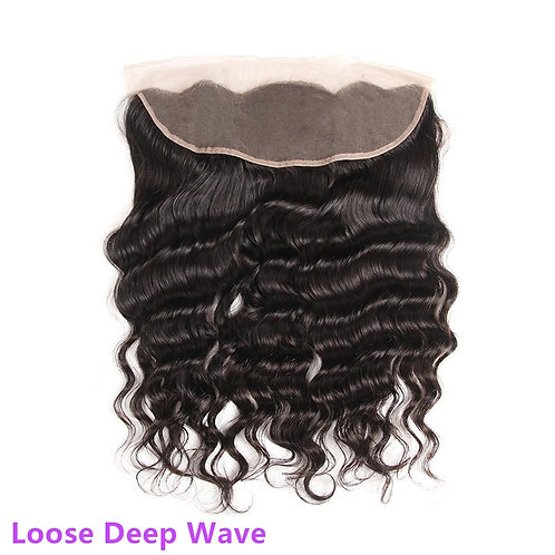 Brazilian Loose Deep Wave 13*4 Full Lace Frontals