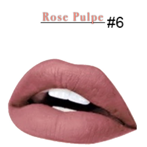 Rose Pulpe Matte Lipstick #6