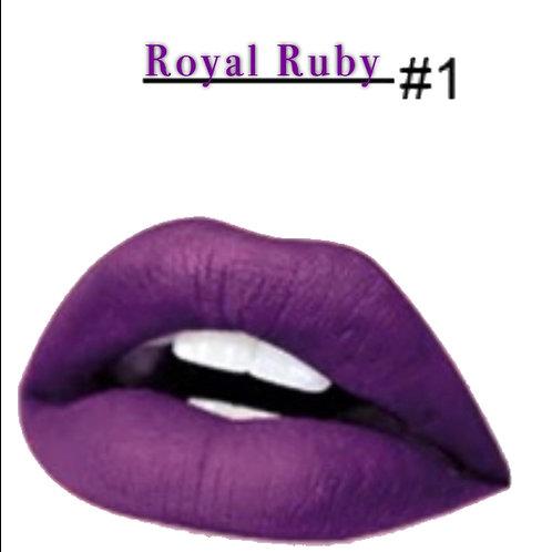 Royal Ruby Matte Lipstick #1