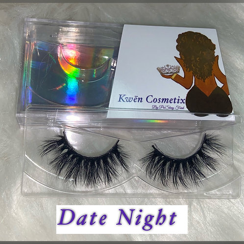 Date Night - 4D Mink Lashes