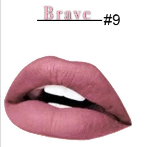 Brave Matte Lipstick #9