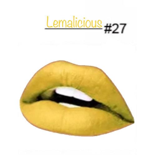 Lemalicious - Matte Lipstick #27