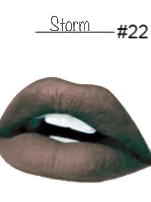 Storm - Matte Lipstick #22