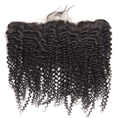 Brazilian Kinky Curly 13*4  Full Lace Frontals