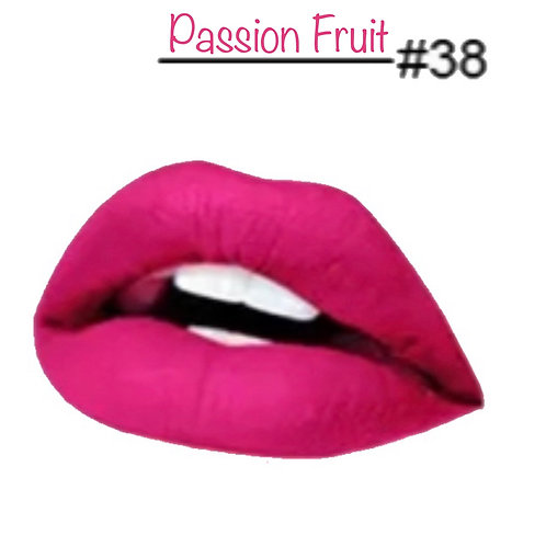 Passion Fruit - Matte Lipstick #38