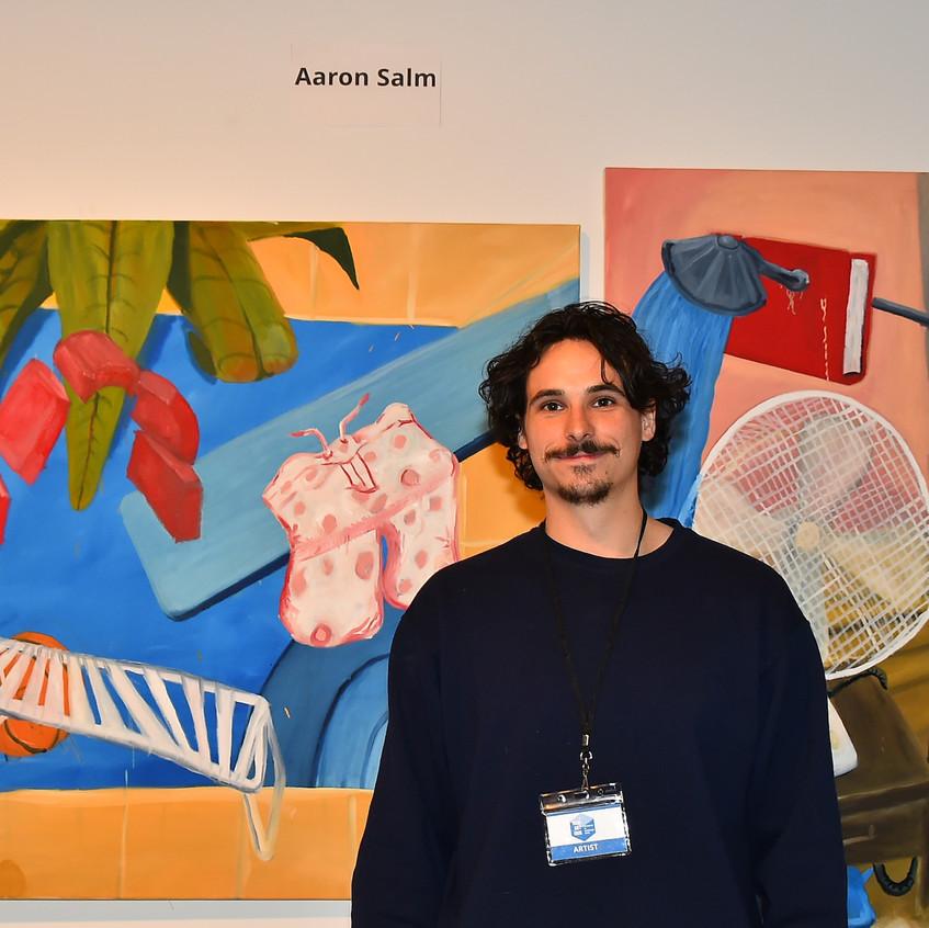 Artist Aaron Salm