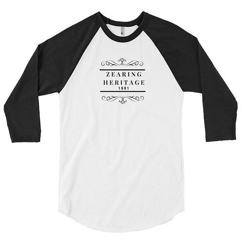 ZHG- 3/4 sleeve raglan shirt