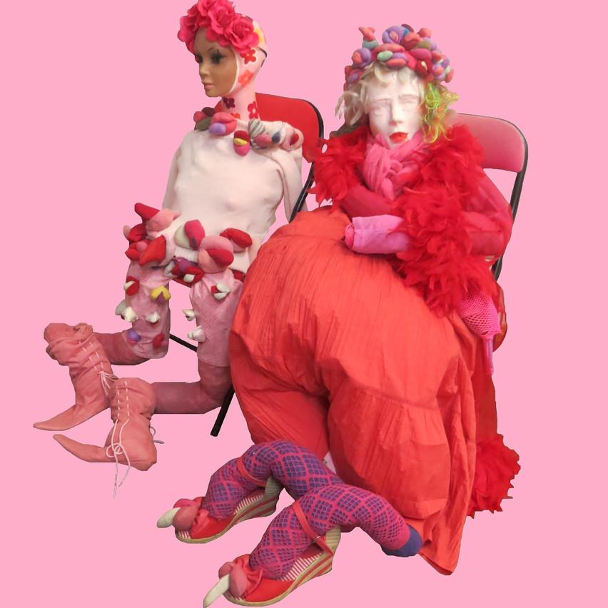 Alexandra Holownia-Dolls--2016-material, fabric, acrylic, 120x89x60cm, 300dpi
