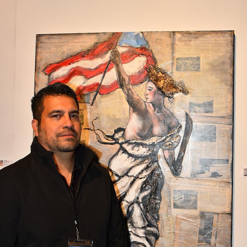 Artist Gilbert Salinas