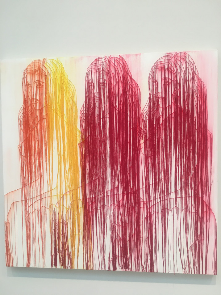 Ghada Amer: Paintings and Ceramics