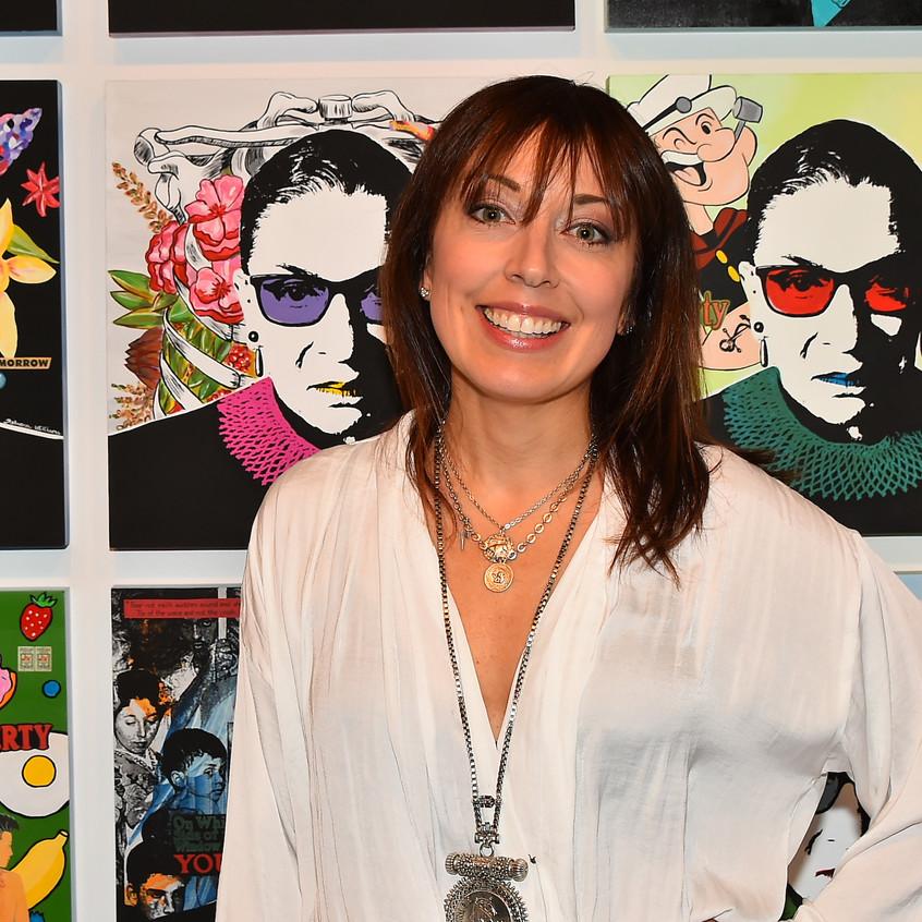 Artist Rebecca Williams