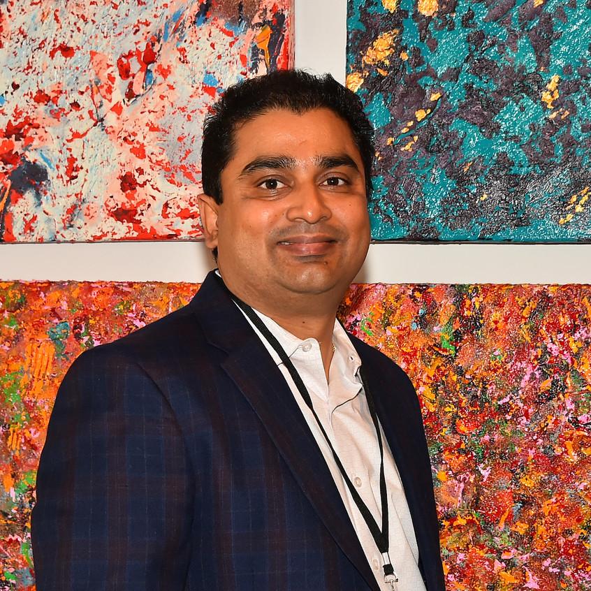 Artist Vikash Jha