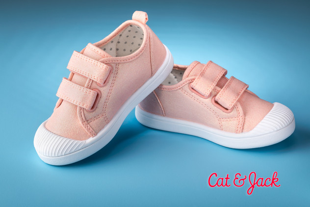 Pink Cat and Jack toddler shoes.JPG