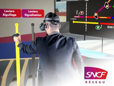 Simulation métier en réalité virtuelle