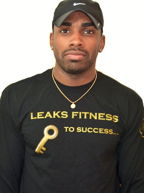 Black/Gold Key To Success Long Sleeve