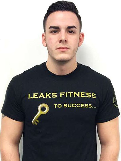 "Black/Gold ""Key To Success"" Tee"