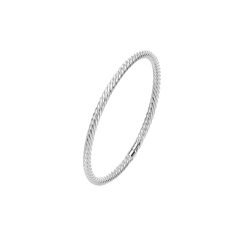 TWISTED CABLE BANGLE
