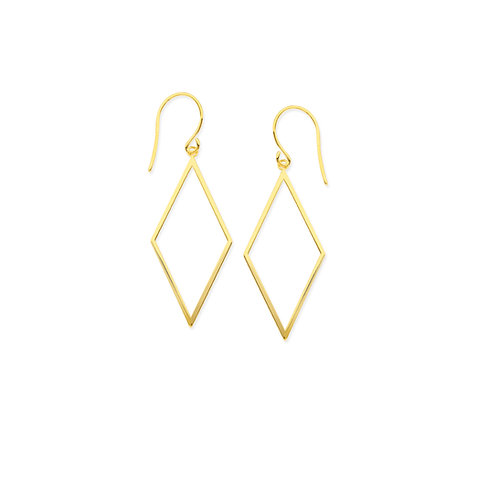 DANGLE RHOMBUS EARRINGS