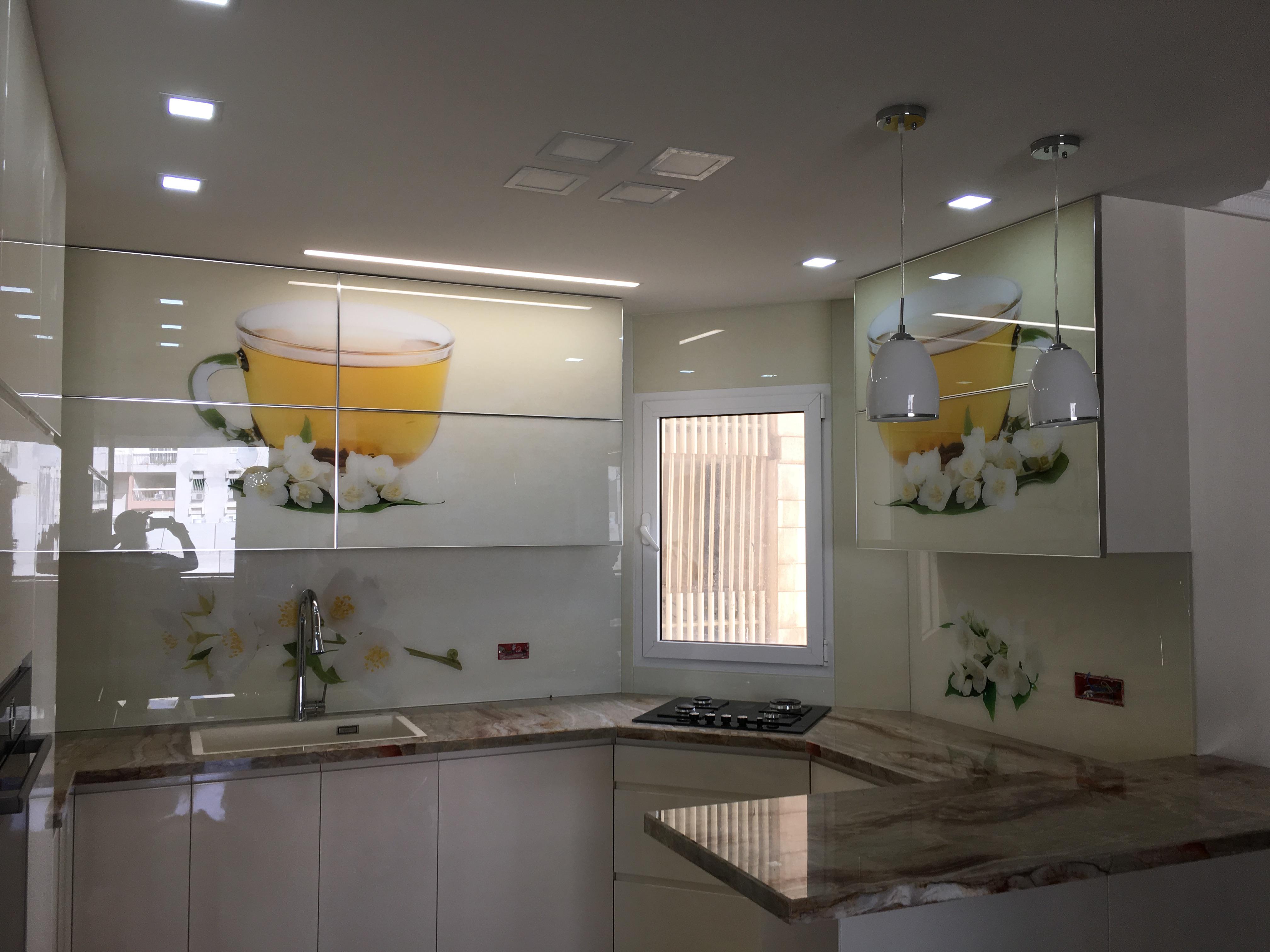 Backsplash Gallery Printed Backsplash Modern Kitchens Digitally