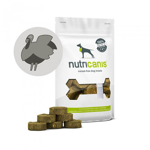 Nutricanis Hundesnack Trockenfleisch Truthahn