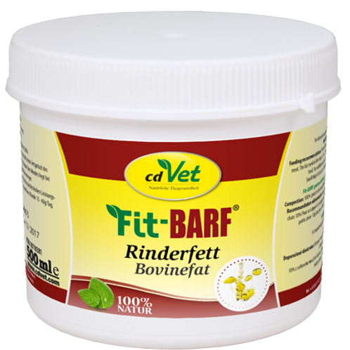 cdVet Fit-BARF Rinderfett 500 ml