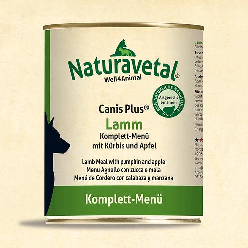 Naturavetal Canis Plus Lamm Komplett Menü