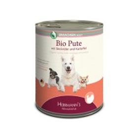 Herrmann´s Hundefutter Bio Pute mit Kartoffeln, Rübe & Fenchel