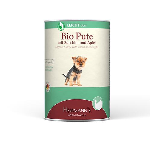Herrmann´s Hundefutter Bio Pute mit Zucchini & Apfel 400g