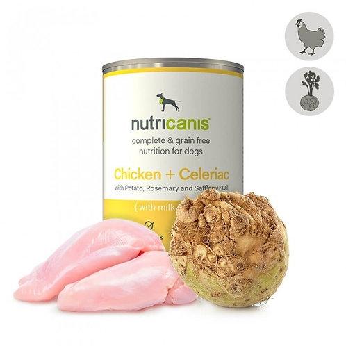 Nutricanis Hundefutter Huhn mit Sellerie