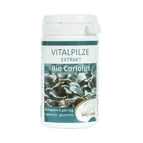 Pilze Wohlrab Bio-Coriolus Extrakt 60 Kapseln