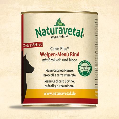 Naturavetal Canis Plus Welpe Menü Rind 800g