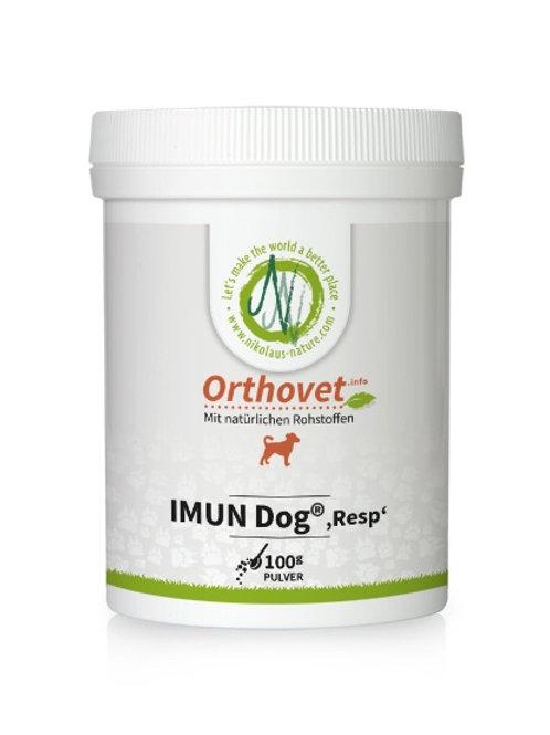 """Orthovet Imun Dog """"RESP"""" 100g"""