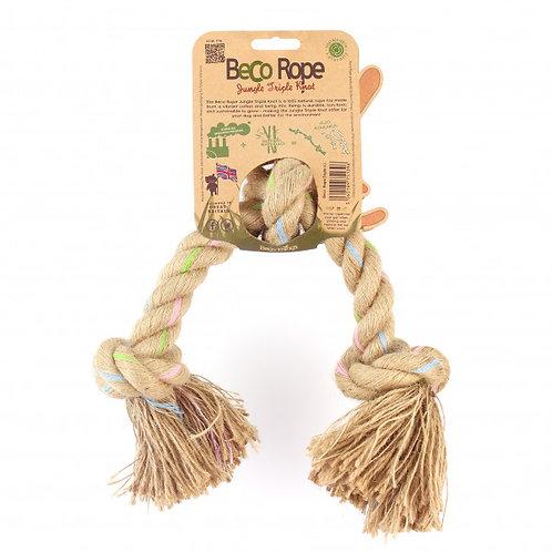 Beco Rope - Jungle Spieltau mit 3 Knoten