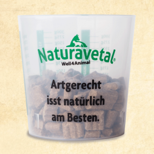 Naturavetal Canis Plus Trockenfutter Messbecher 1 Stk.