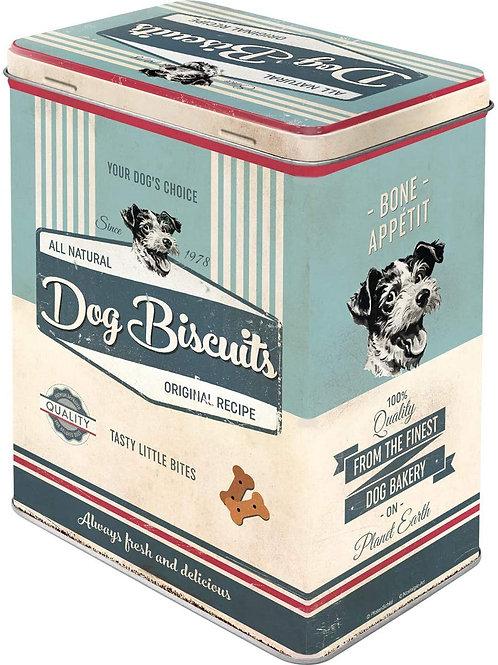 """Nostalgic Art Pfotenschild Design Vorratsdose """"Dog Biscuits"""""""