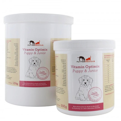 Futtermedicus Vitamin Optimix Puppy & Junior 500g