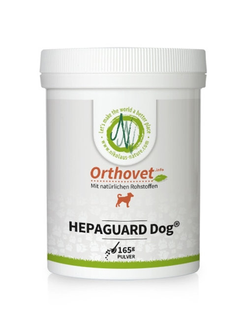Orthovet Hepaguard Dog Leberschutz 165g