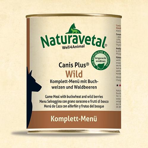 Naturavetal Canis Plus Wild Komplett Menü