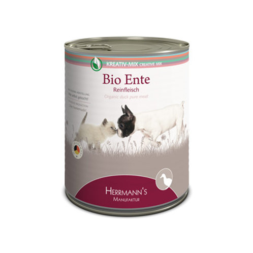 Herrmann´s Bio Ente Reinfleisch 800g