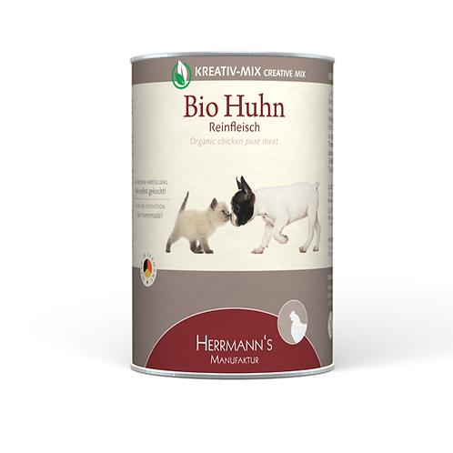 Herrmann´s Hundefutter Bio Huhn Reinfleisch 400g