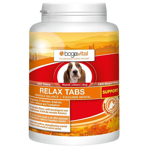 bogavital® RELAX TABS SUPPORT 120 Tabs